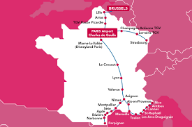 Map Of France And Switzerland by Tgv France Brussels U2013 Voyages Sncf Com