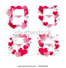 Design For Valentines Card Saint Valentine Banco De Imágenes Fotos Y Vectores Libres De