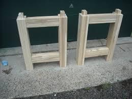 Knock Down Shooting Bench Plans My Big Ash Knockdown Roubo Workbench By Combo Prof Lumberjocks