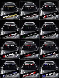 mitsubishi ralliart stickers trd hks dakar gt ralliart windows windshield car sticker decal