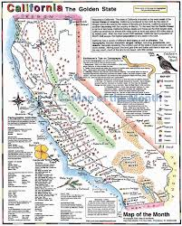 Map Of The Us And Mexico by California Map Maps For The Classroom