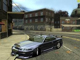 nissan skyline 2005 need for speed most wanted nissan skyline r34 gtr nfscars