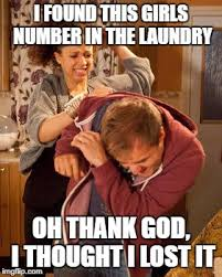 Dirty Laundry Meme - you never know imgflip