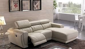 Genuine Leather Reclining Sofa Chaise Recliner Sofa Russcarnahan Com
