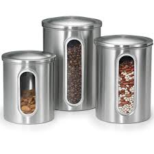 glass kitchen storage canisters canisters for kitchen storage in sleek glass kitchen canisters