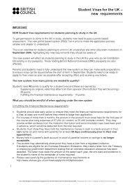 sample cover letter for student visa application