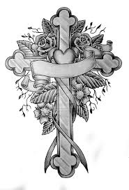 crosses tattoos designs memorial tattoos designs and ideas page 16