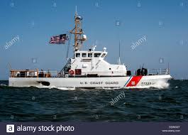 the crew of the coast guard cutter narwhal patrols the waters of