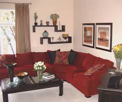 simple home decor for family interior design rukle red sofa with