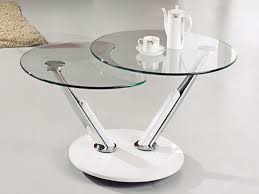White Glass Coffee Table Glass Round Coffee Tables Rascalartsnyc