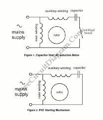 reversible ac motor capacitor wiring diagram wiring diagrams