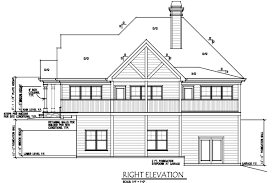 house porch side view lake wedowee creek retreat house plan