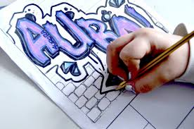 how to write your name in graffiti letters on paper name in graffiti style dsc0824