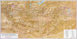 Mongolia Map Large Road Network Map Of Mongolia Mongolia Asia Mapsland