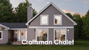 chalet home craftsman chalet by dickinson homes
