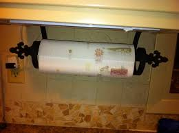 bronze paper towel holder under cabinet roselawnlutheran