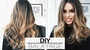 does hair look like ombre when highlights growing out diy 20 at home hair balayage ombre tutorial updated ad
