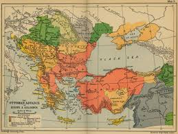 Ottoman Map Map Of The Ottoman Conquests 1451 1566
