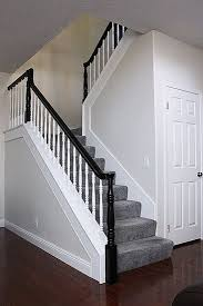 Painting A Banister Black Best 25 Black Banister Ideas On Pinterest Staircase Remodel