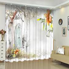Butterfly Kitchen Curtains Aliexpress Com Buy New Kitchen Curtains Panel 3d Colorful