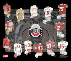 heritage uniforms and jerseys ohio state university buckeyes football uniform and team history