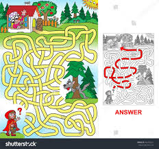 red riding hood help little red stock vector 465416021 shutterstock