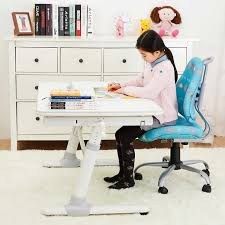 kids room ergonomic desk adjustable for reading painting