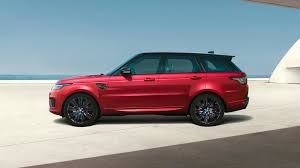red range rover new range rover sport vehicle gallery land rover