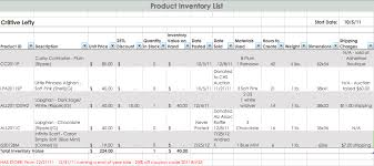 Jewelry Inventory Spreadsheet Template by Handmade Inventory Tracking Part 2 Handmade Artists