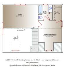 the kinzel escape log home complete blueprints