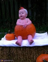 Infant Pumpkin Halloween Costumes Baby Pumpkin Halloween Photo Costume Works