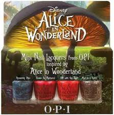 opi alice in wonderland nail polish collection 2010 opi