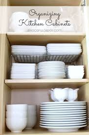 Inside Kitchen Cabinet Organizers Interesting Modest Organizing Kitchen Cabinets Organizing Kitchen