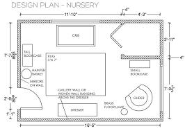 Nursery Floor Plans Neutral Well Mostly California Nursery Emily Henderson