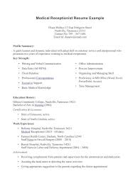 resume examples medical assistant example of medical assistant