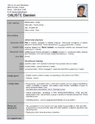 Resume For Applying Job by Resume Format For Phd Application Resume Format