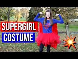 Supergirl Halloween Costume Diy Supergirl Halloween Costume Idea