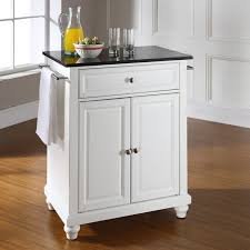 crosley cambridge kitchen island with granite top kf30024dwh base