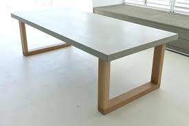 concrete and wood dining table small concrete table concrete dining table in round prepare small