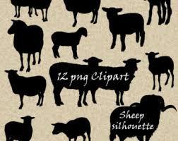 sheep clip art etsy