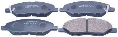 nissan versa brake pads brake pad kit febest 0201 c11f oem 41060 ax085 ebay