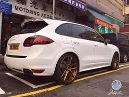 Modulare Wheels Kwok Wah Motoring Hk 2014 Porsche Cayenne Gts