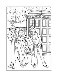 doctor who coloring pages men dr who pinterest