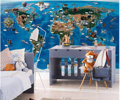compare prices on wall murals animals online shopping buy low custom photo mural 3d wallpaper animal world map setting wall room decor painting 3d wall murals