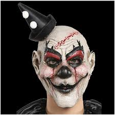 clown halloween masks clooney clown mask mad about horror