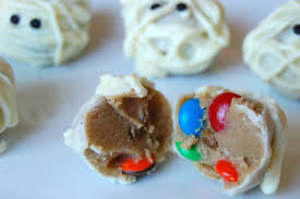 halloween candy cookie dough bites mommy like whoa