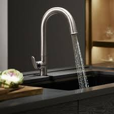 kitchen faucet design ideas cream cearmic backsplash stainless