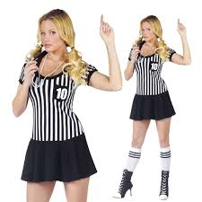 Halloween Costume Referee Racy Referee Sports Costume