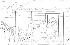 home for the holidays coloring page