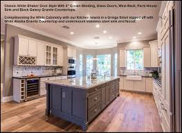 shaker kitchen island affordable kitchen bath remodeling mesa gilbert chandler az